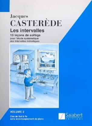 Les Intervalles - Volume 2 - Jacques Casterède - laflutedepan.be