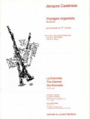 Jacques Castérède - Excursiones organizadas - Volumen 1 - Partition - di-arezzo.es