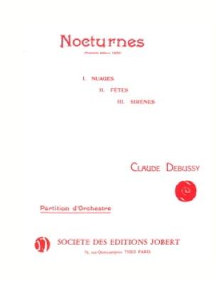 DEBUSSY - 3 Nocturnes - Driver - Partition - di-arezzo.co.uk