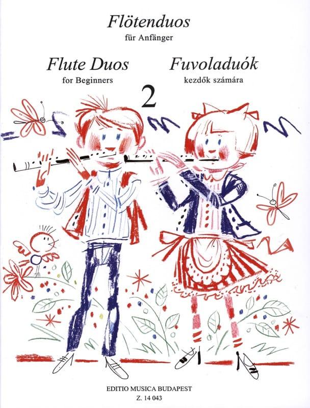 Flute Duos For Beginners Volume 2 - Laszlo Csupor - laflutedepan.com
