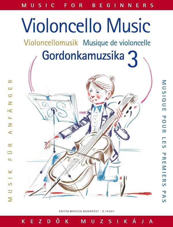 Musique pour les 1ers pas, Volume 3 - Violoncelle - laflutedepan.com