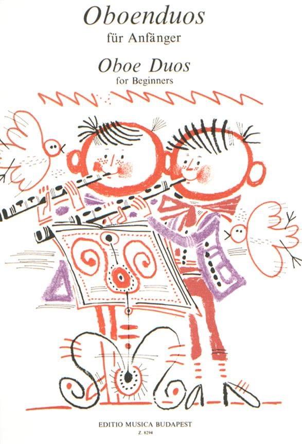 Oboe duos for beginners - Partition - Hautbois - laflutedepan.com