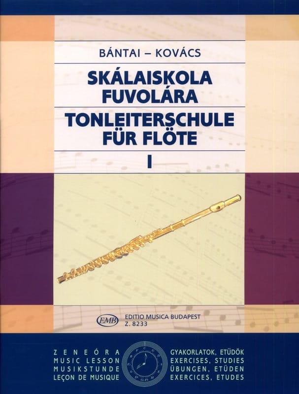 Bantai Vilmos / Kovacs Gabor - Tonleiterschule für Flöte - Bd. 1 - Partition - di-arezzo.es