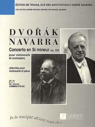 DVORAK - Cello Concerto in B Minor, Op. 104 Navarra - Partition - di-arezzo.com