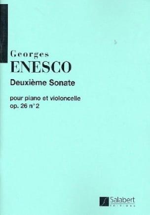 Sonate op. 26 n° 2 ut majeur - Georges Enesco - laflutedepan.com