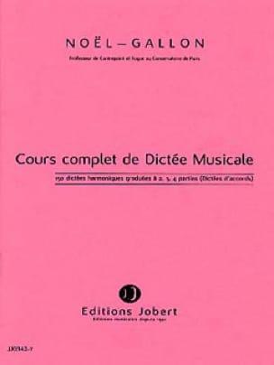 Noël Gallon - 150 Harmonic Dictations graduated to 2, 3, 4 parts - Partition - di-arezzo.com