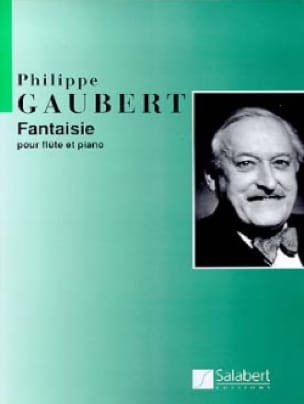 Philippe Gaubert - Fantasy - Flute and Piano - Partition - di-arezzo.co.uk