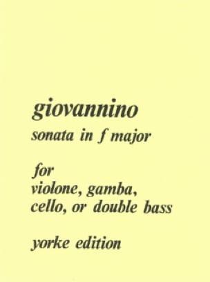 Sonata in F major - Giovannino - Partition - laflutedepan.com