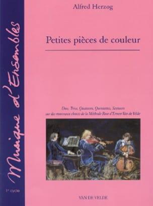 Petites pièces de couleur Pochette de 6 recueils - laflutedepan.com