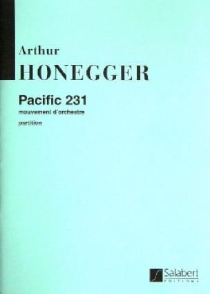 Arthur Honegger - Pacific 231 - Partition - di-arezzo.co.uk