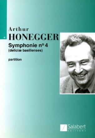 Arthur Honegger - Symphony No. 4 - Conductor - Partition - di-arezzo.co.uk