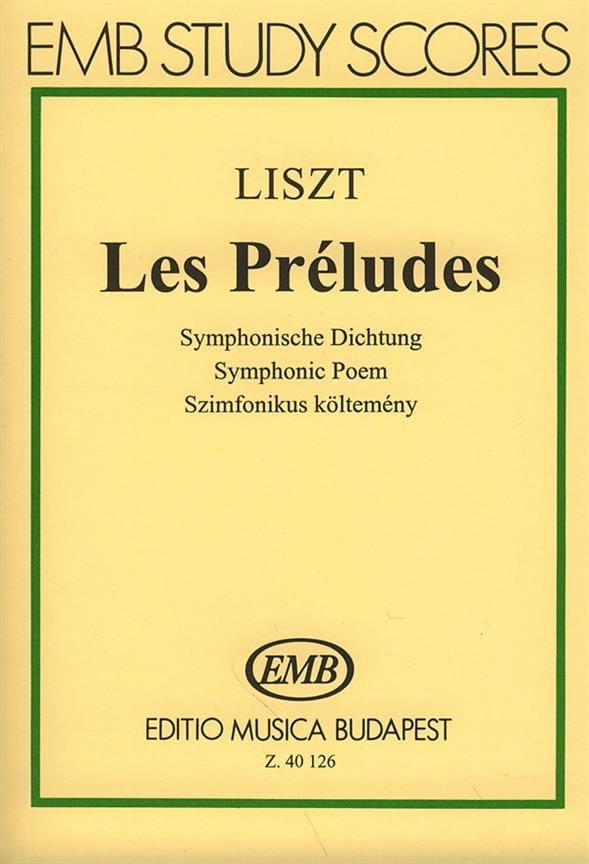 Les Préludes - LISZT - Partition - Petit format - laflutedepan.com