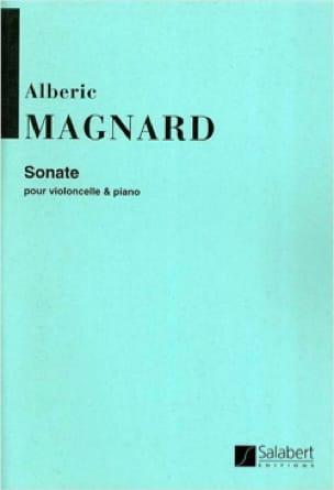 Sonate - Opus 20 - Albéric Magnard - Partition - laflutedepan.com