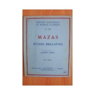 MAZAS - Op.36 Brilliant Studies - Partition - di-arezzo.co.uk