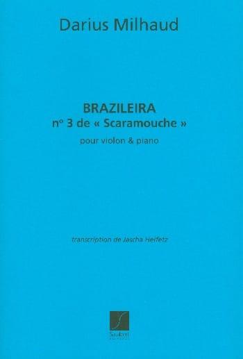 Darius Milhaud - Braziliera, n° 3 de Scaramouche - Partition - di-arezzo.fr
