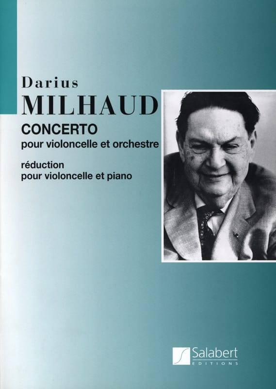 Concerto Violoncelle - Darius Milhaud - Partition - laflutedepan.com