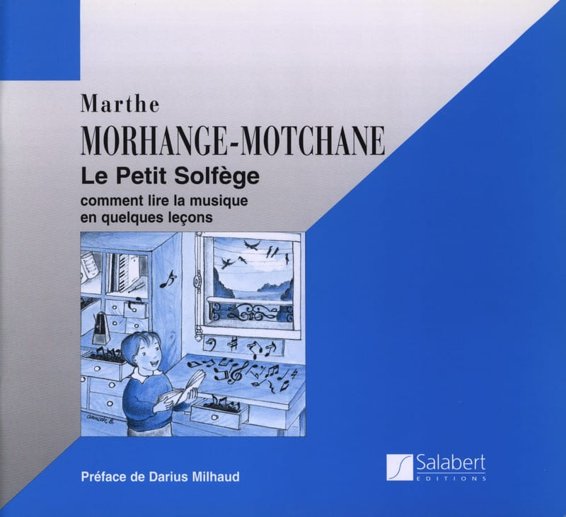 Le petit solfège - Marthe Morhange-Motchane - laflutedepan.com