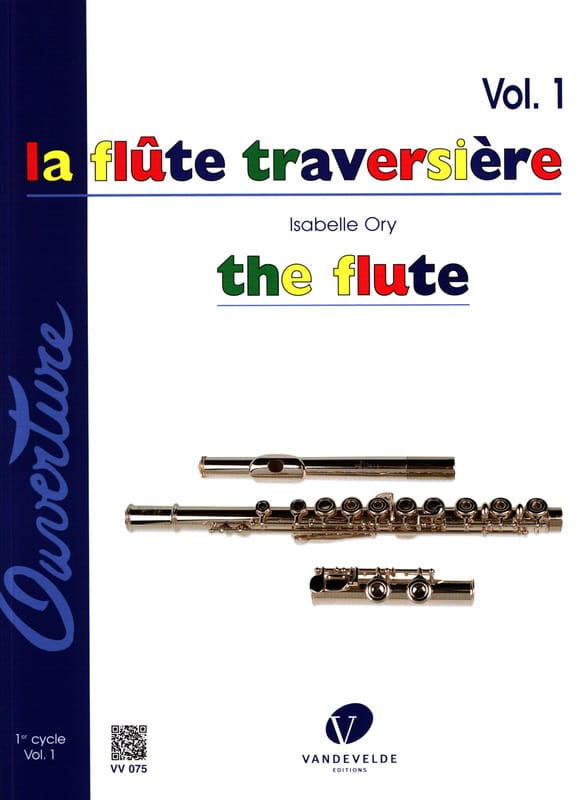 Isabelle Ory - The Flute - Volume 1 - Partition - di-arezzo.co.uk