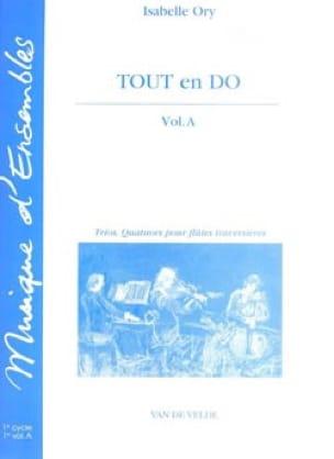 Tout en Do - Volume A - Isabelle Ory - Partition - laflutedepan.com