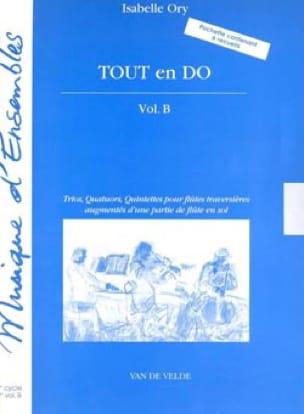 Tout en Do - Volume B - Isabelle Ory - Partition - laflutedepan.com