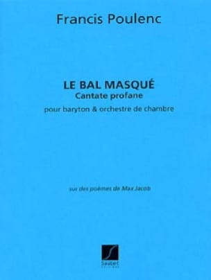 Francis Poulenc - The Masked Ball - Conductor - Partition - di-arezzo.co.uk