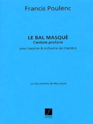 Francis Poulenc - The Masked Ball - Conductor - Partition - di-arezzo.com