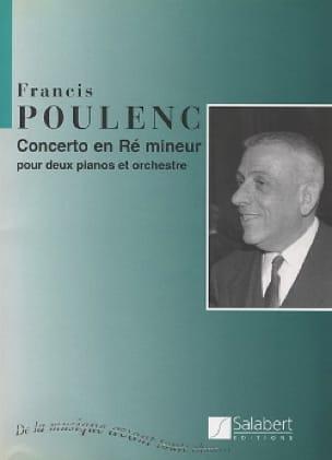 Francis Poulenc - Concerto in D minor for 2 Pianos - Conductor - Partition - di-arezzo.com