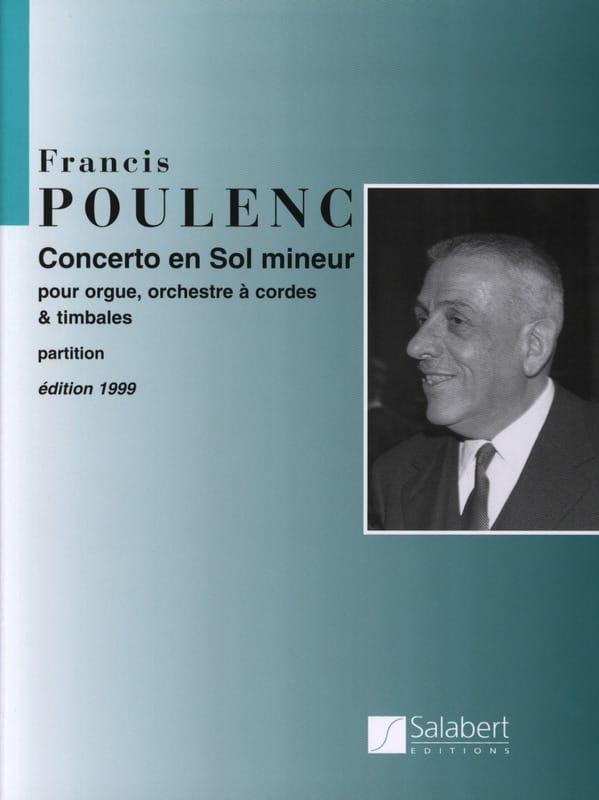 Concerto en sol mineur pour Orgue - Conducteur - laflutedepan.com
