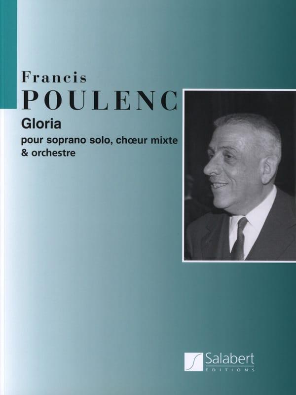 Francis Poulenc - Gloria - Partition - di-arezzo.co.uk
