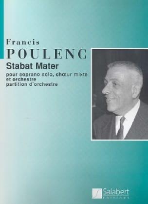 Francis Poulenc - Stabat Mater - Driver - Partition - di-arezzo.co.uk