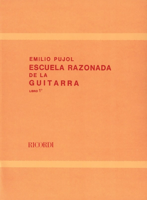 Ecole Raisonnée de la Guitare Livre 1 - laflutedepan.com