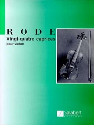 24 Caprices - Pierre Rode - Partition - Violon - laflutedepan.com
