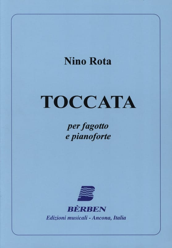 Toccata - ROTA - Partition - Basson - laflutedepan.com