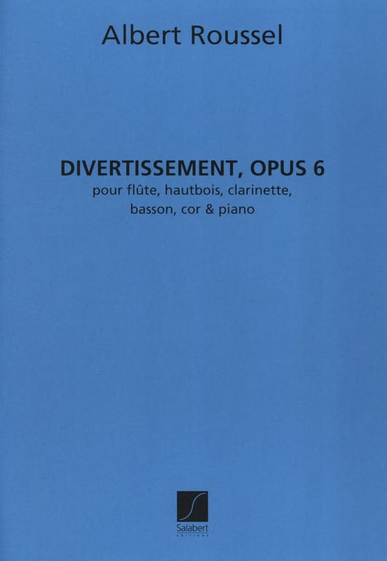 Divertissement op. 6 - Partition + parties - laflutedepan.com