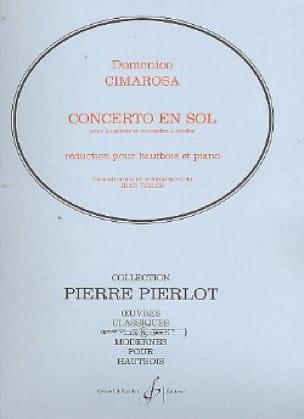 Domenico Cimarosa - Concerto in G major for oboe - Partition - di-arezzo.com