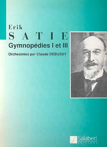 Gymnopédies 1 et 3 - Conducteur - SATIE - laflutedepan.com