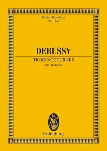 DEBUSSY - Three Nocturnes - Partition - di-arezzo.co.uk