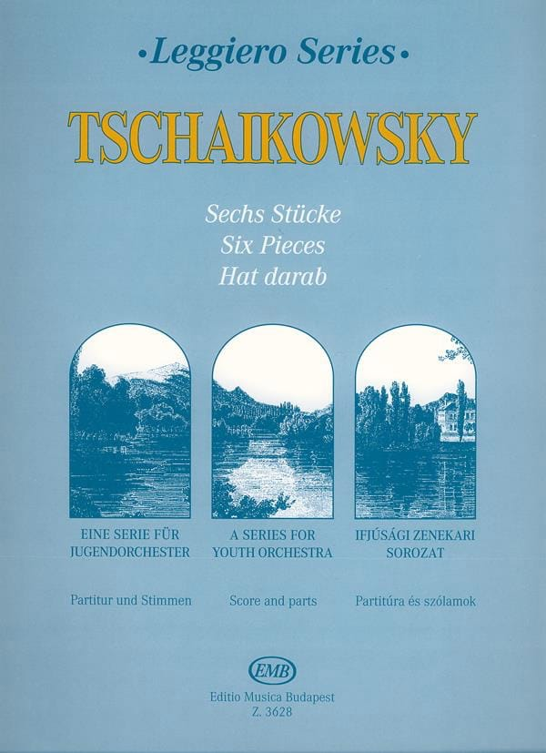 TCHAIKOVSKY - 6 pieces - String orch. junior - Partition - di-arezzo.co.uk