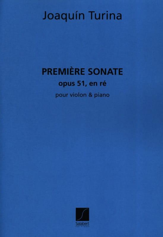 Sonate en ré n° 1 op. 51 - TURINA - Partition - laflutedepan.com