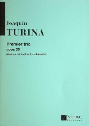 Joaquin Turina - Trio n ° 1 op. 35 - Parties - Partition - di-arezzo.co.uk