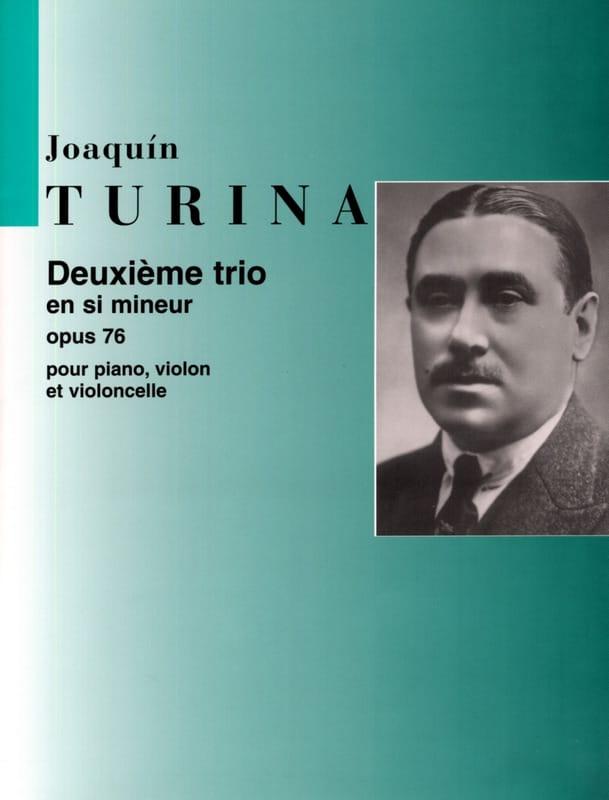 Joaquin Turina - Trio n ° 2 op. 76 in B minor - Parties - Partition - di-arezzo.co.uk