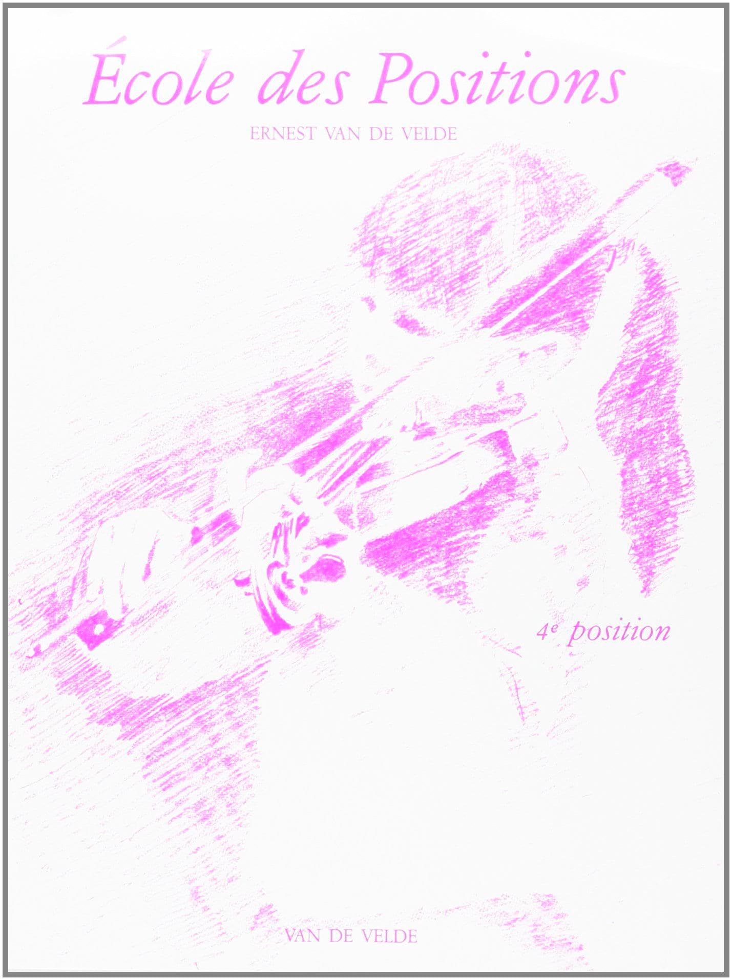 VAN DE VELDE - School of Positions - 4a posizione - Partition - di-arezzo.it