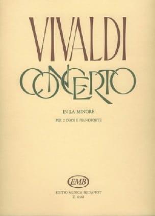 Concerto en la Mineur Rv 536 - VIVALDI - Partition - laflutedepan.com