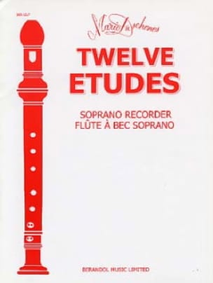 Mario Duschenes - 12 Studi - Soprano Recorder - Partition - di-arezzo.it