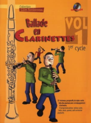 - Clarinet Ballad - Volume 1 Cycle 1 - Partition - di-arezzo.co.uk