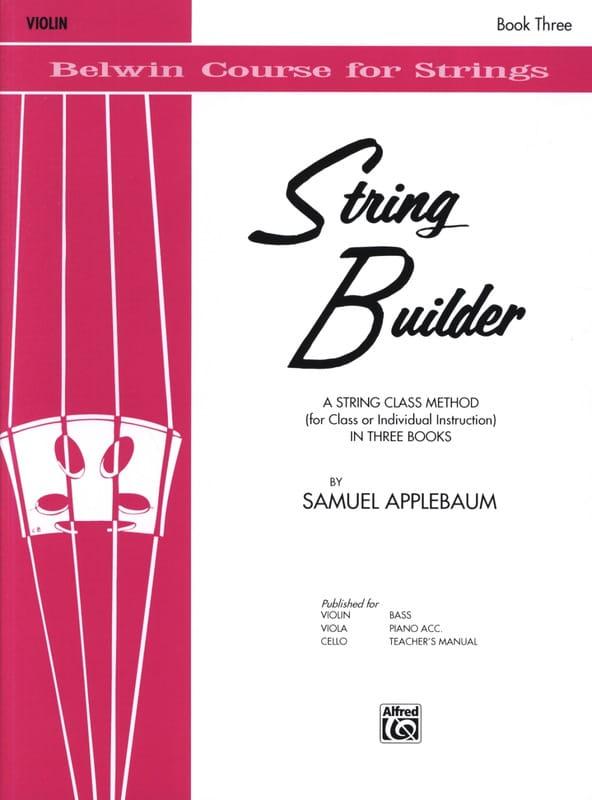 String Builder, Volume 3 - Violin - laflutedepan.com