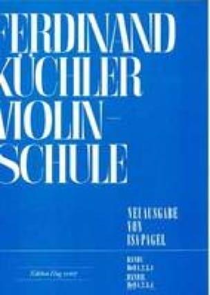 Ferdinand Kuchler - Violinschule - Band 2, Heft 4 - Partition - di-arezzo.co.uk
