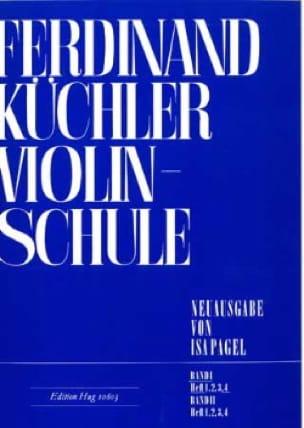 Ferdinand Kuchler - Violinschule - Band 1, Heft 4 - Partition - di-arezzo.co.uk