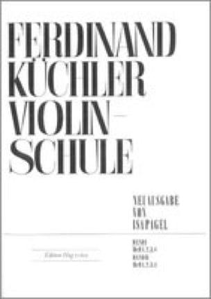 Ferdinand Kuchler - Violinschule - Band 1, Heft 3 - Partition - di-arezzo.co.uk