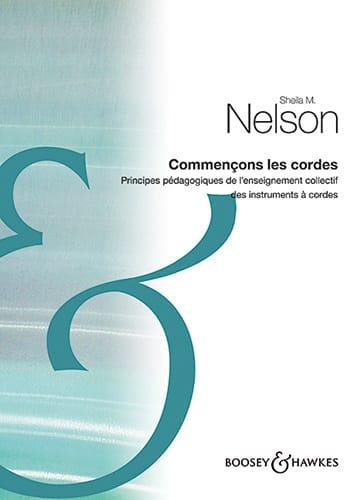Sheila M. Nelson - Comencemos las cuerdas - Livre - di-arezzo.es